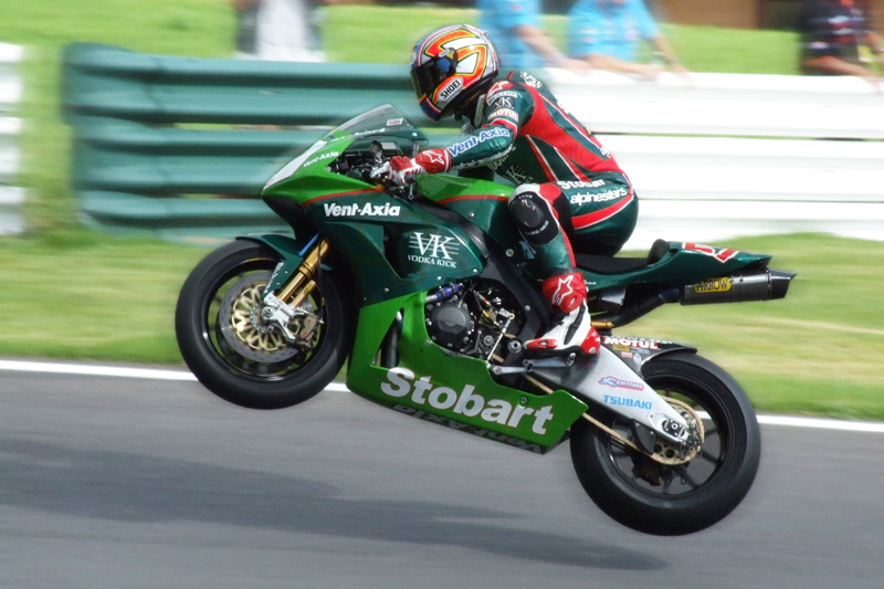 Flying At BSB Cadwell 2007 Stobart