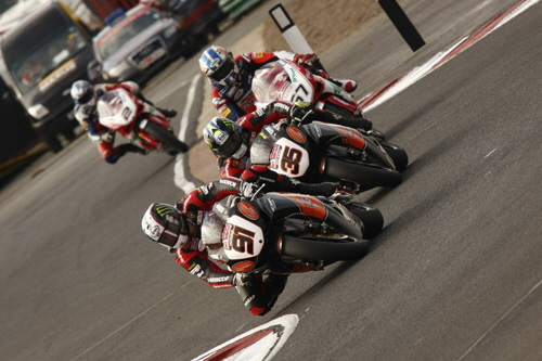 Leon Haslam leads @Croft 2008