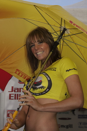 BSB Knockhill - Bike Animal - Babe!