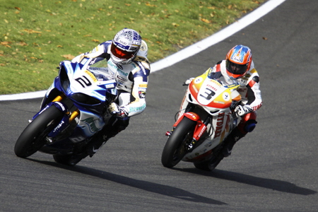 Leon Camier & Stuart  Easton Battle