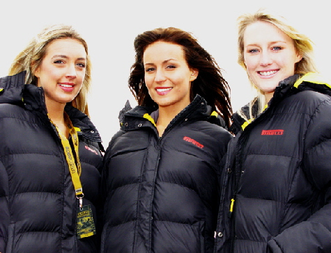 Pirelli Girls @Croft 09