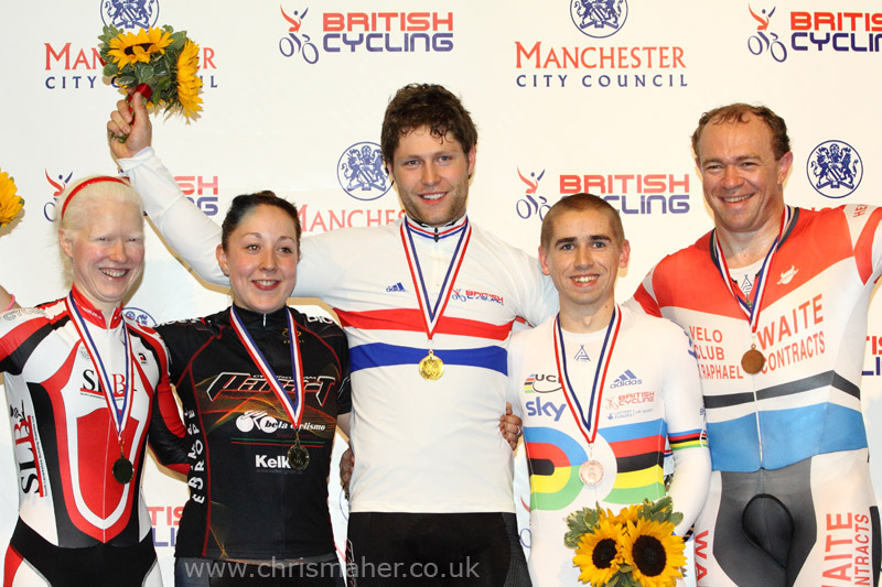 Para-Cycling - British National Track Championships 2011