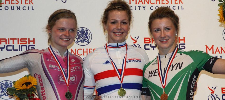 Women's Keirin - British National Track Championships 2011