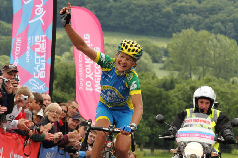 Women's British Cycling National Road Race Champion 2012 | Sharon Laws