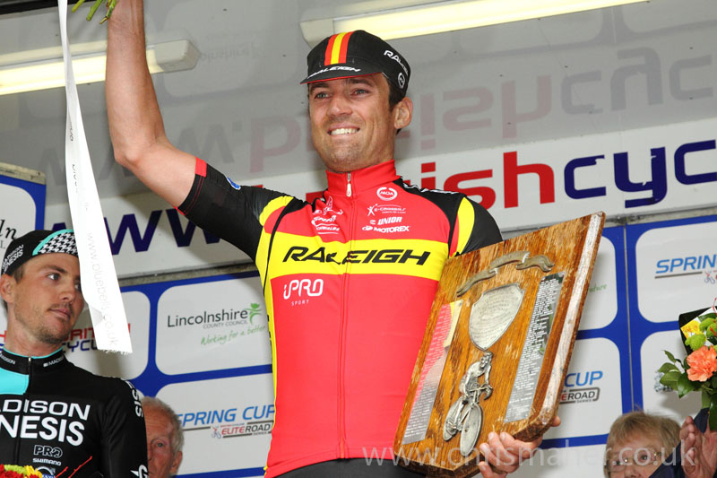 Podium Victory for Yanto Barker, Team Raleigh.