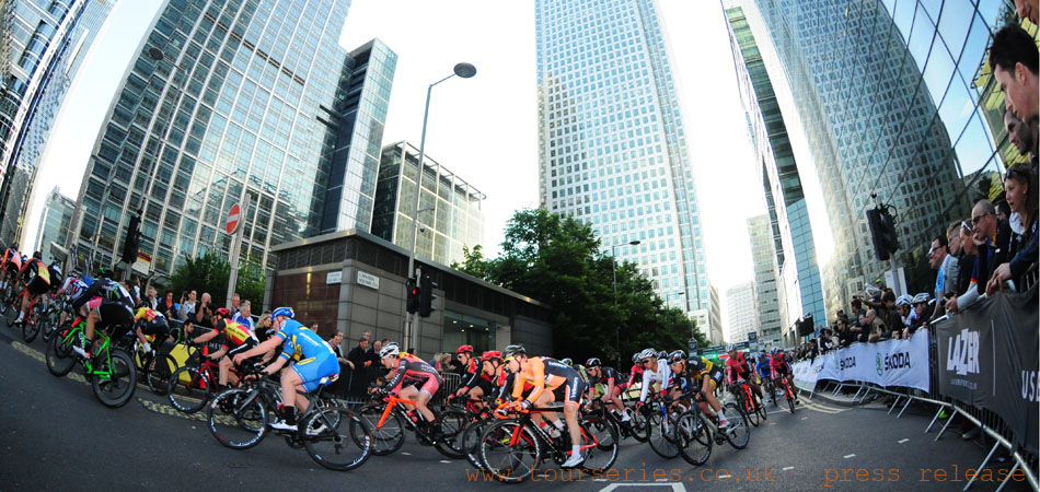 Tour Series 2014, Canary Wharf