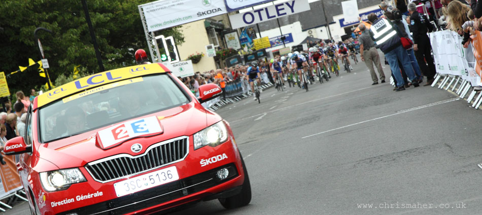 The 2014 TdF arrives early for the Otley Grand Prix