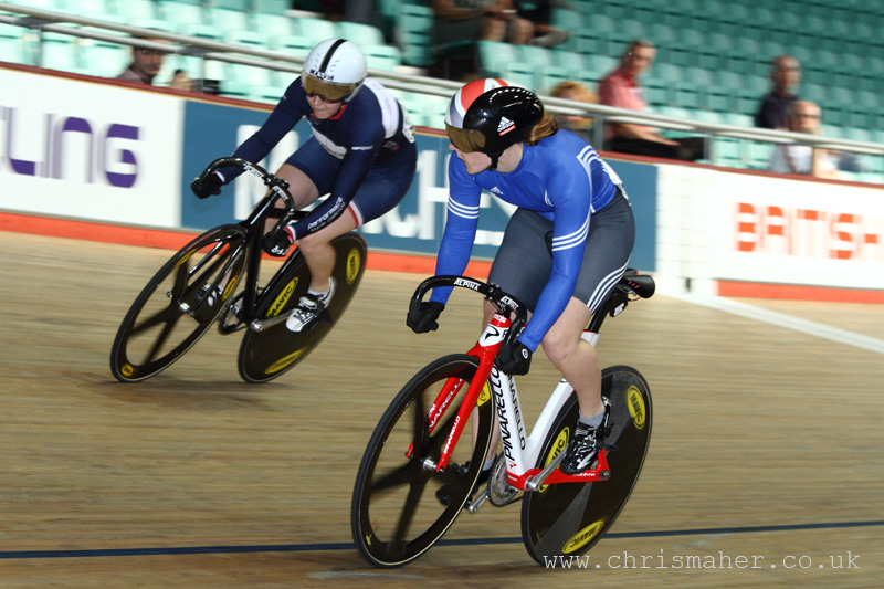 National Track Championships 2014 - Katy Marchant