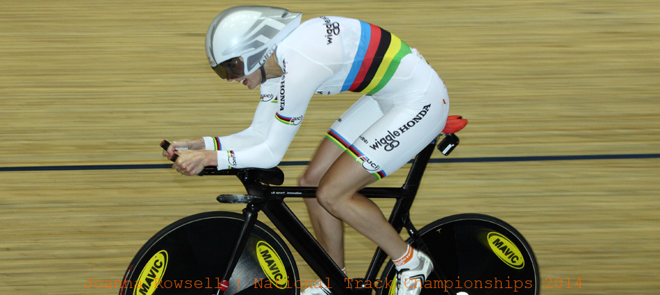 Back On-Track... Joanna Rowsell rides Revolution 47