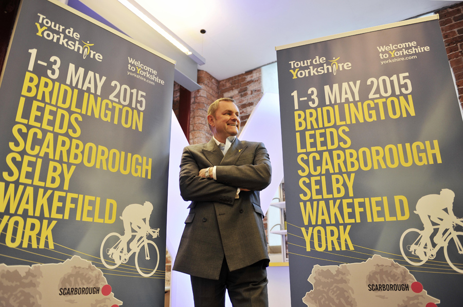 Gary Verity, Tour De Yorkshire Launch