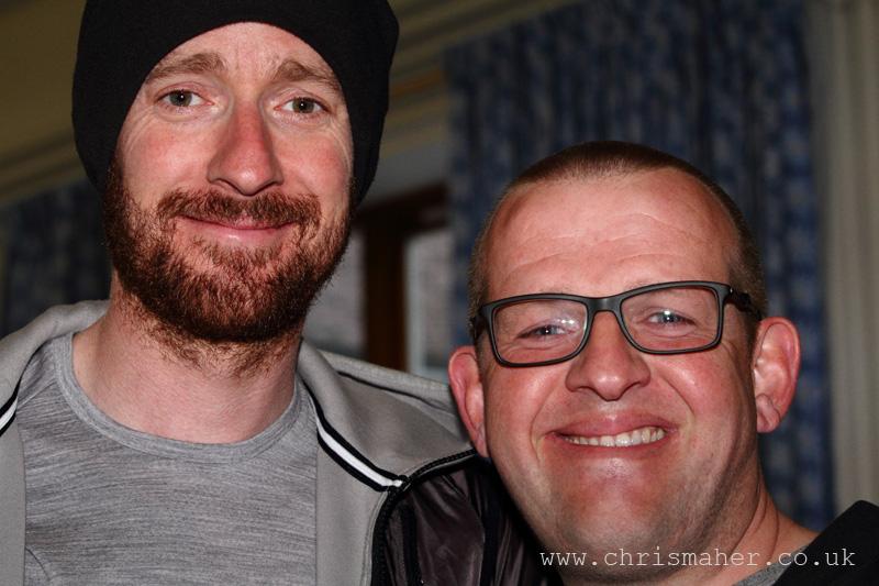 Sir Bradley Wiggins & Andy Birdsall