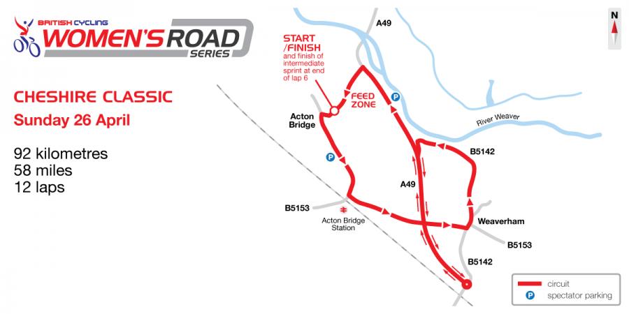 Cheshire Classic Circuit Map