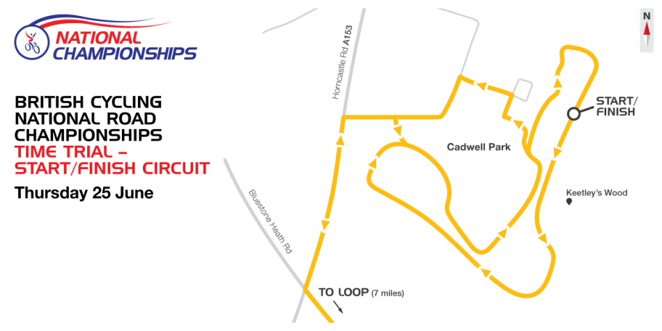 Time Tiral Start Finish Circuit