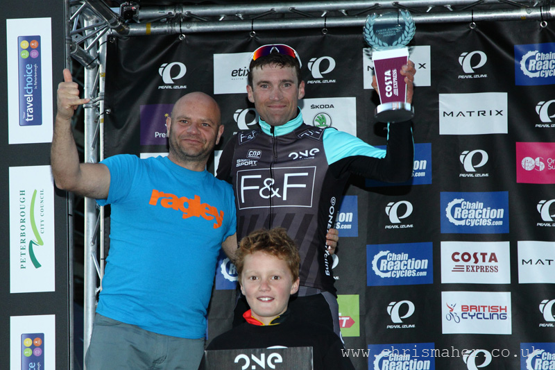 Yanto Barker, ONE Pro Cycling... Costa Express Fastest Lap