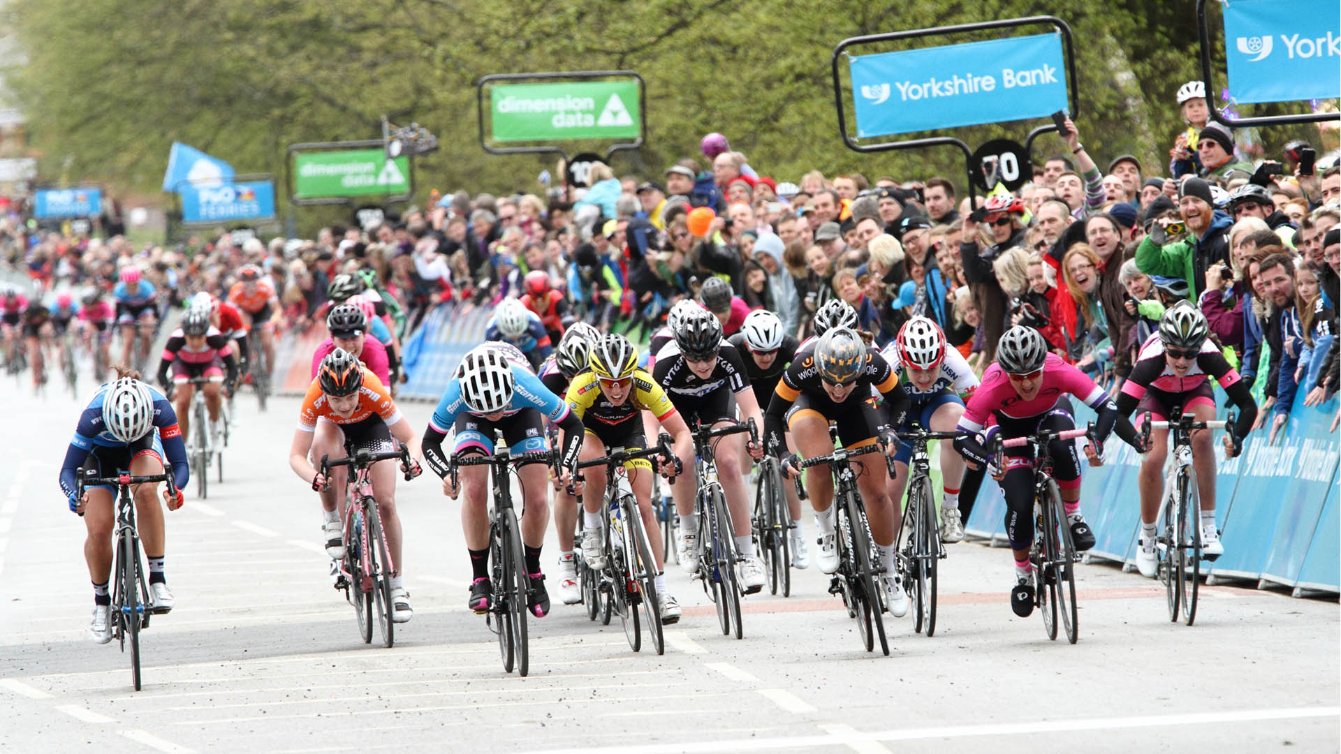 Women's Tour De Yorkshire 2015