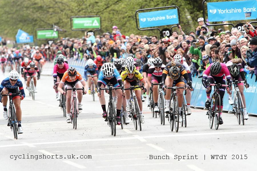 Women's Tour De Yorkshire 2015 - Bunch Sprint