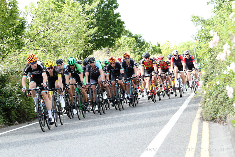 Velo29 Altura Stockton Grand Prix, Four Circuits Remaining