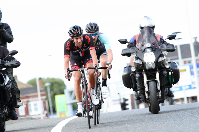 Velo29 Altura Stockton Grand Prix, Leading Duo of Ian Bibby & George Atkins