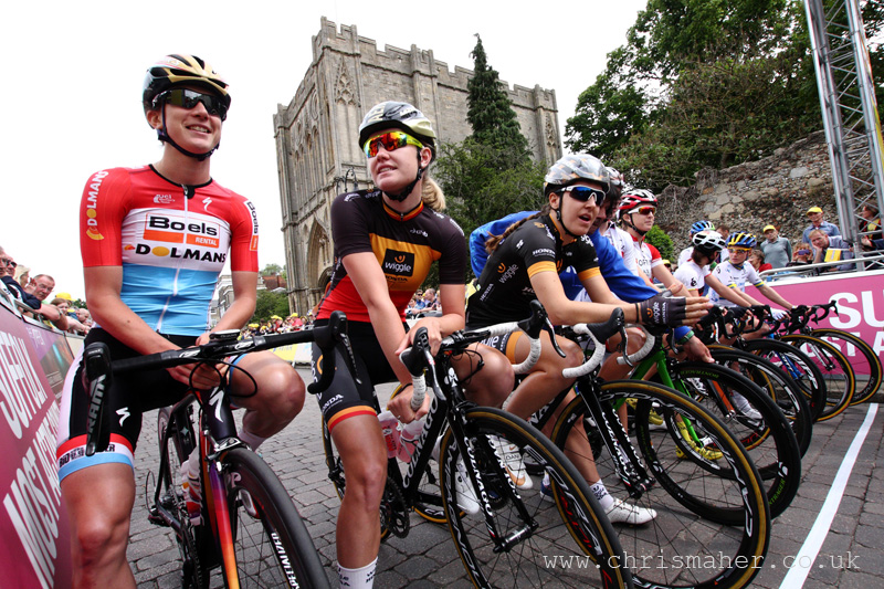 Start Line, Aviva Women's Tour 2015 | Stage One