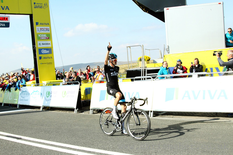 Aviva Tour of Britain 2015 Stage Winner: Wouter Poels - Team Sky