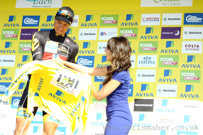 Aviva Tour of Britain 2015 Yellow Jersey - Edvald Boasson Hagen