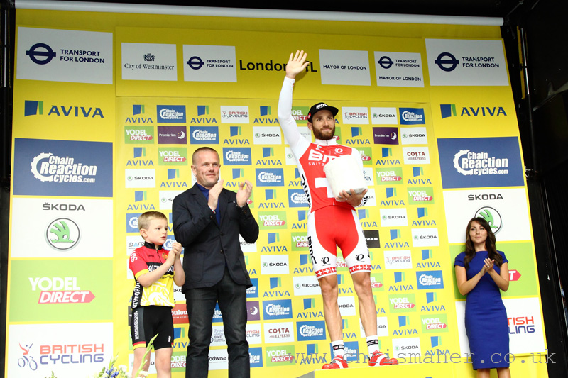Aviva Tour of Britain 2015 | Stage Eight - London presented by TfL - Danilo Wyss