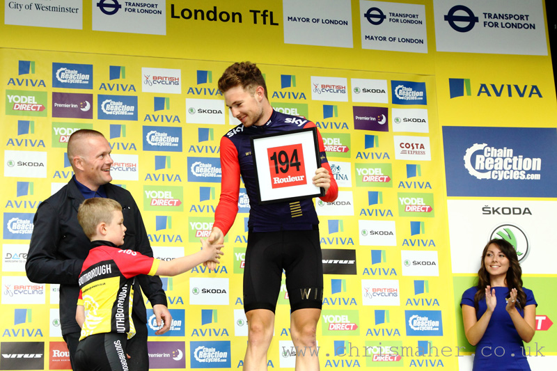 Aviva Tour of Britain 2015 | Stage Eight - London presented by TfL - Owain Doull