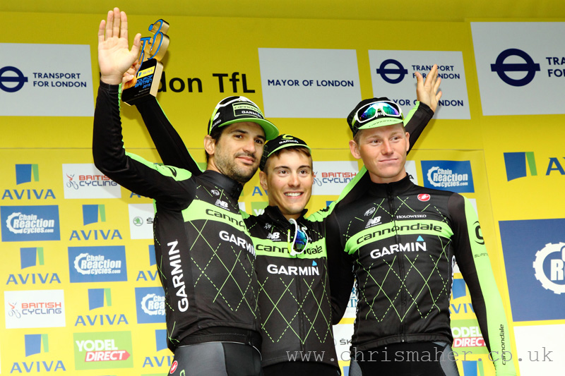 Aviva Tour of Britain 2015 | Stage Eight - London presented by TfL - Team, Cannondale - Garmin