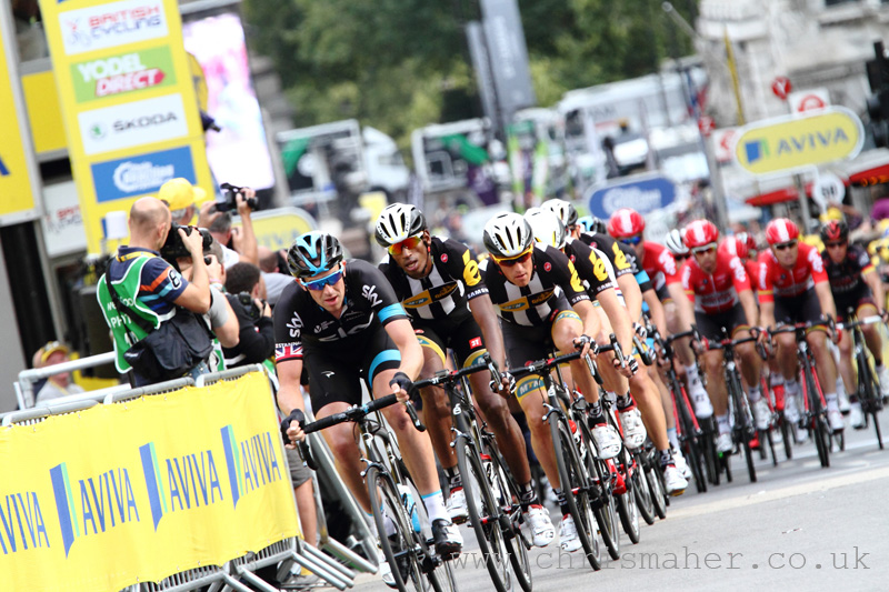 Aviva Tour of Britain 2015 | Stage Eight - London presented by TfL - Ian Stannard