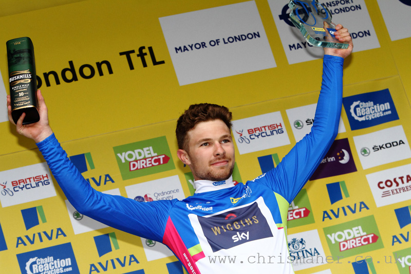 Aviva Tour of Britain 2015 | Stage Eight - London presented by TfL, Owain Doull