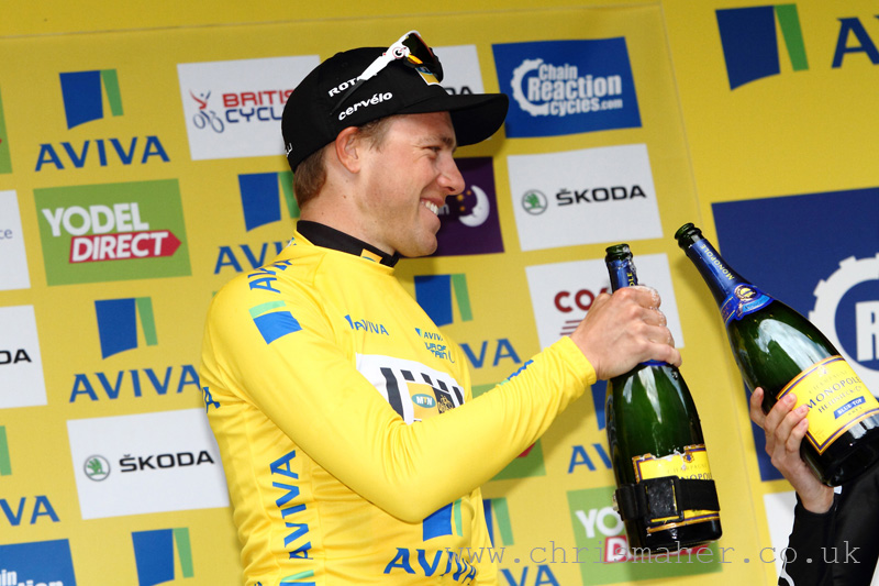 Aviva Tour of Britain 2015 Stage 8 London presented by TfL, Time for celebrations... Congratulations Edvald Boasson Hagen