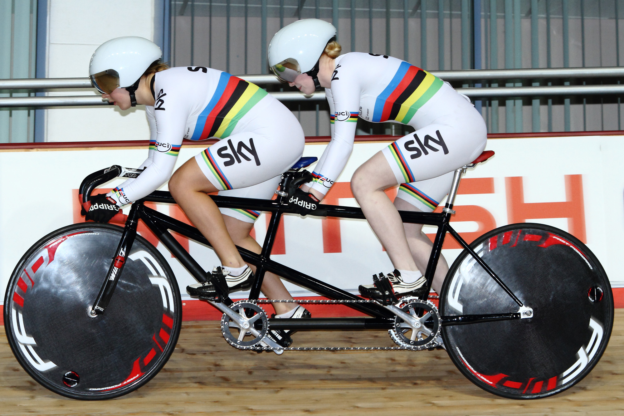 British National Track Championships | Helen Scott & Sophie Thornhill