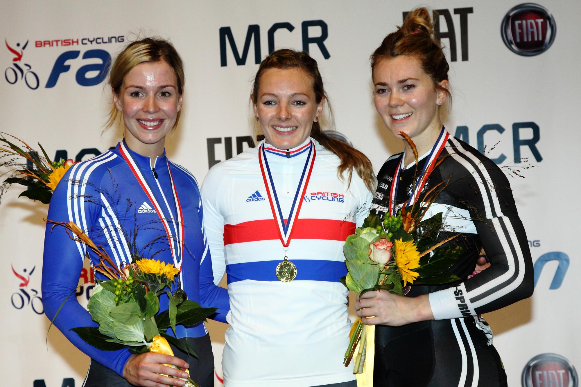 British National Track Championships - Kay Marchant