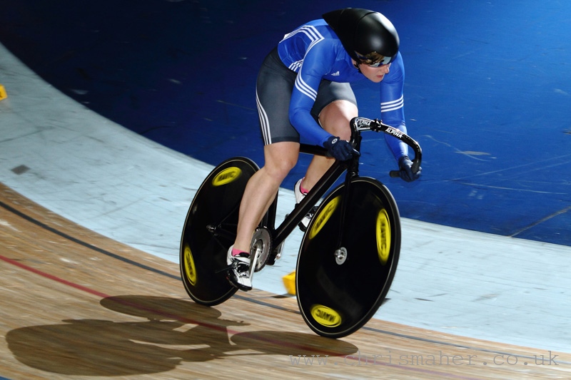 British National Track Championships | Katy Marchant, Team Sprint Qualifying