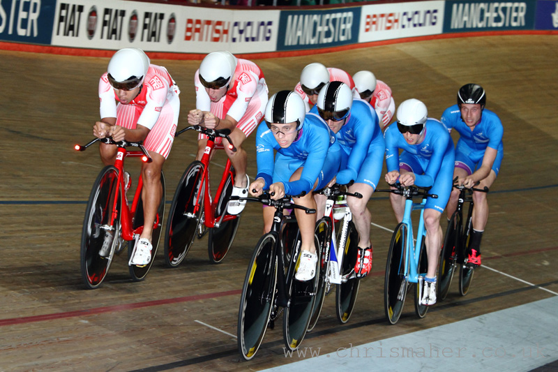 British National Track Championships | Team Pursuit Catch!