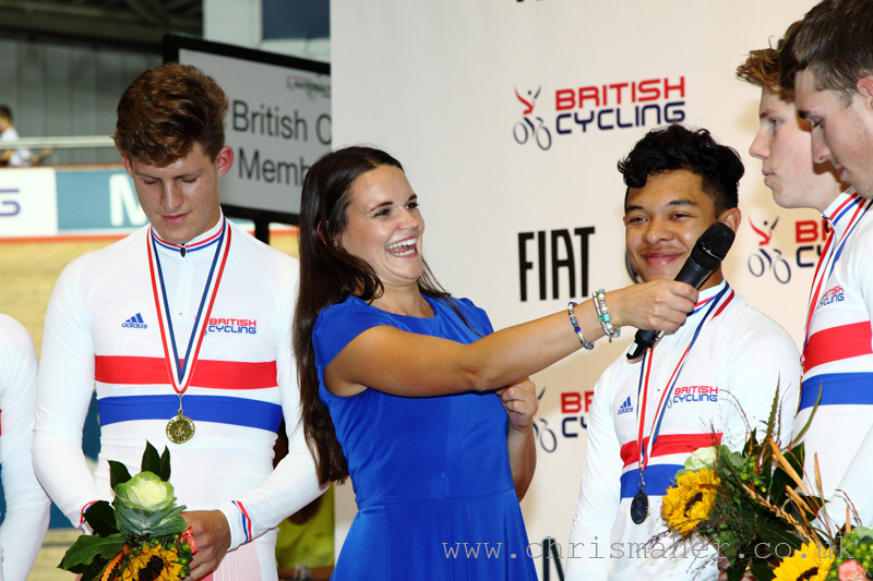 British National Track Championships | 100%ME 4000m Pursuit Champions
