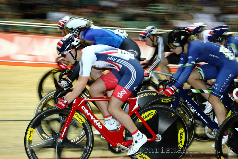 UCI Women's Scratch Race... Manon Lloyd