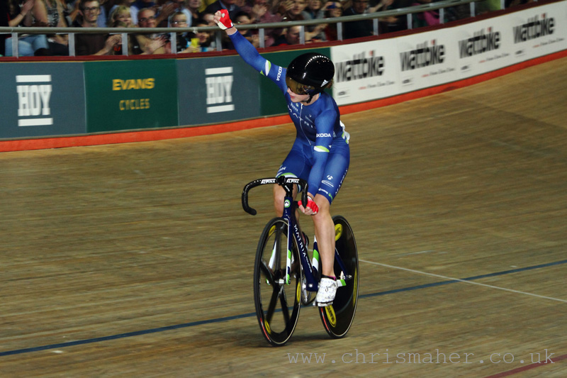 Laura Trott, Elite Women's Elimination Race