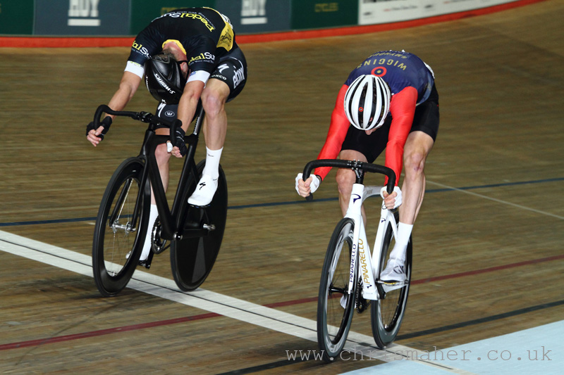 Revolution 53 Team Elimination, Sir Bradley Wiggins V's Iljo Keisse...