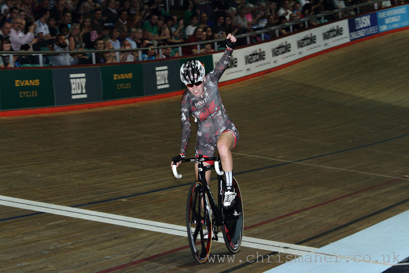 Revolution 53 - Maddie Gammons, Future Star Girls Scratch Race