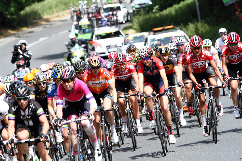 Aviva Women's Tour 2015 | Stage Two - Peloton