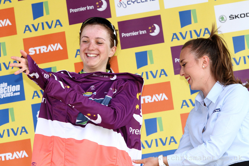 Aviva Women's Tour 2015 | Stage Two - Premier Inn Best British - Elinor Barker