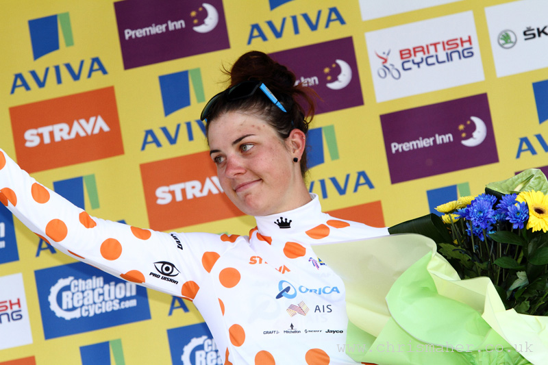 Aviva Women's Tour 2015 | Stage Two - Strava QoM - Melissa Hoskins