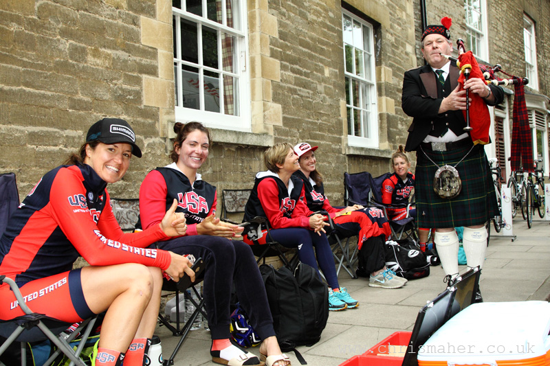 Pre Stage 3 Entertainment for Team USA in Oundle