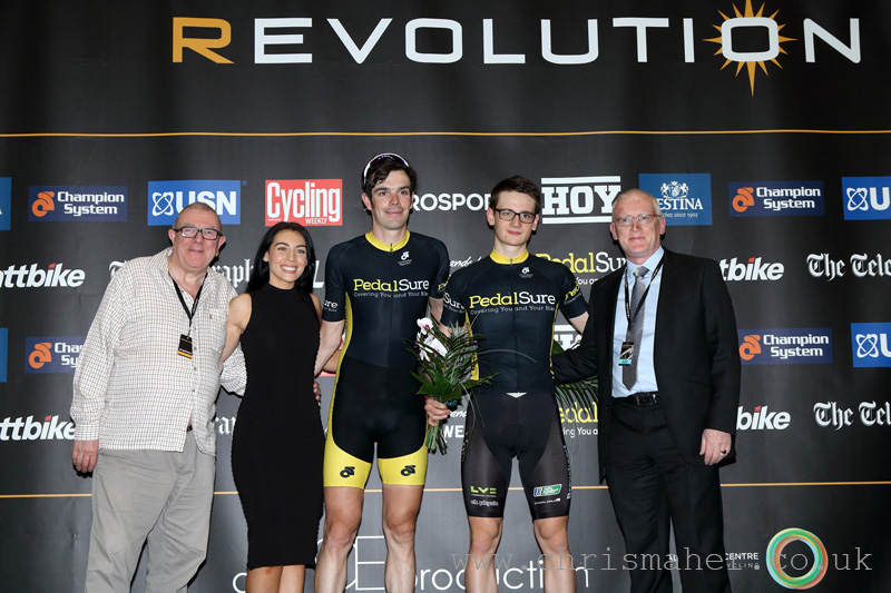 Series Leaders after round 4, Team Pedalsure, Revolution 55 - Series 13, Glasgow
