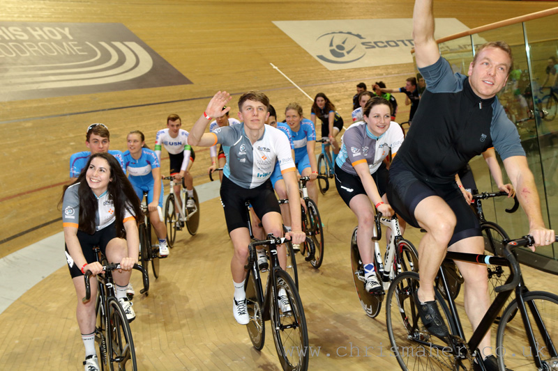 Hoy Future Stars, with Sir Chris Hoy, Revolution 55 - Series 13, Glasgow, Round 4...