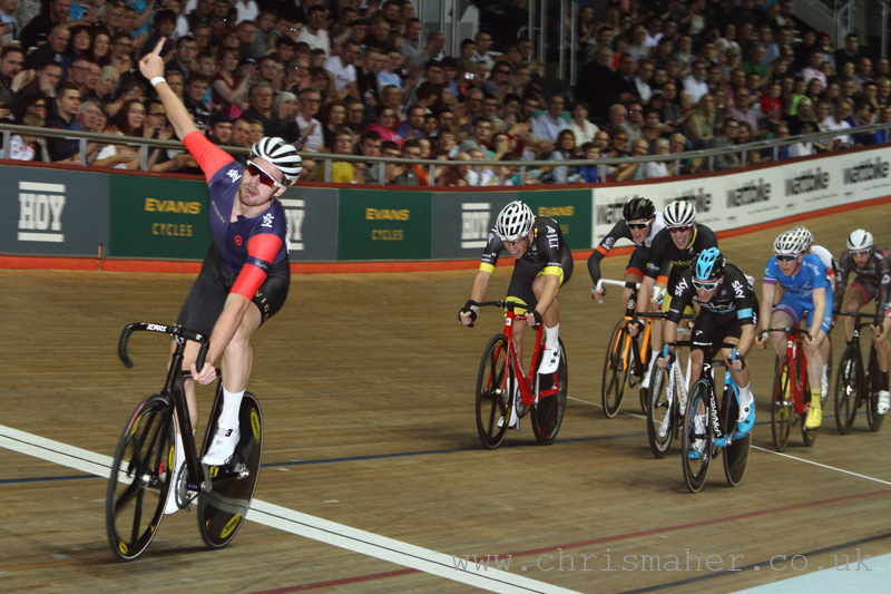 Jon Dibben, Elite UCI Scratch Race