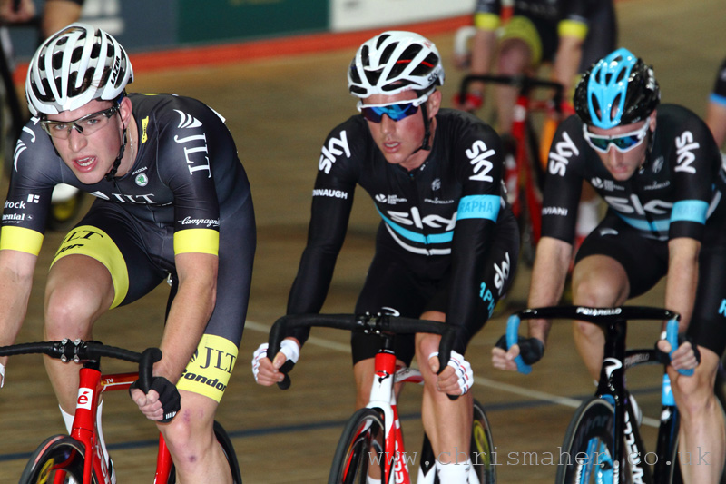 Ollie Wood, Peter Kennaugh, Elia Viviani