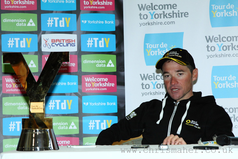 Tour De Yorkshire 2016 - Middlesbrough to Scarborough Winner Thomas Voeckler - Direct Energie