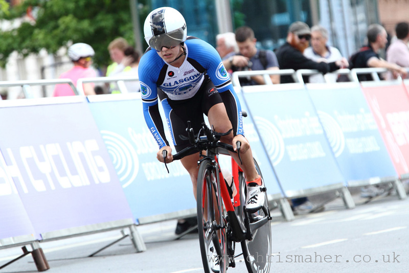 British Cycling National Time Trial Championships 2016 | Stockton-On-Tees - Neah Evans